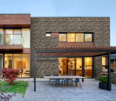 Deco Bricks Brown